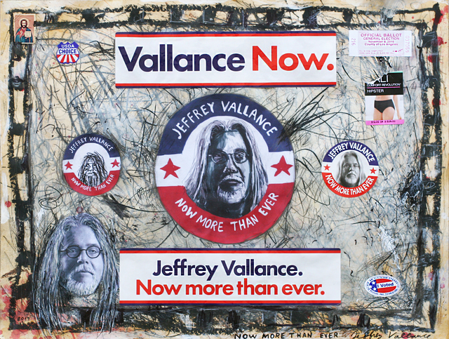 Jeffrey Vallance, 'Now More Than Ever', 2017, Los Angeles Contemporary Exhibitions (LACE) Benefit Auction
