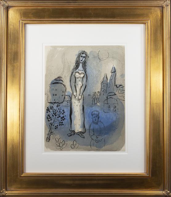 Marc Chagall, 'Esther, M 252/275', 1960, David Barnett Gallery