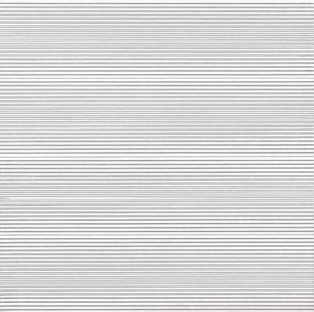, '2 trames inégales avec 5 interférences,' 1974, Dan Galeria