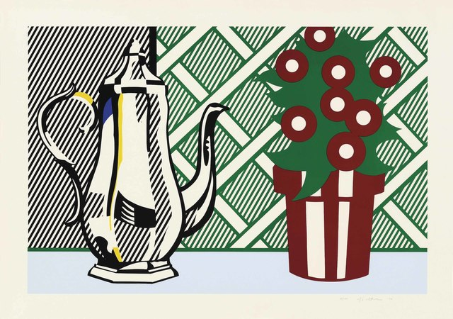 Roy Lichtenstein, 'Still Life with Pitcher and Flowers, from: Six Still Lifes', 1974, Christie's