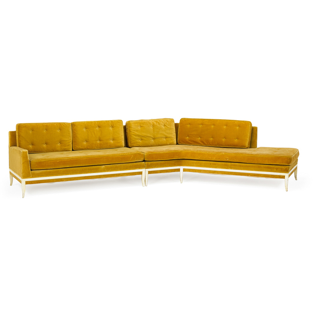Tommi Parzinger, 'Sectional Sofa, New York', 1950s, Rago/Wright