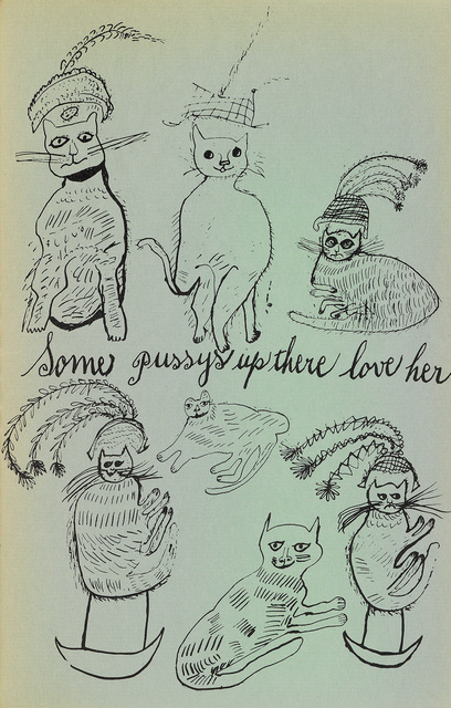 Andy Warhol, 'Holy Cats by Andy Warhol's Mother', 1954, Swann Auction Galleries