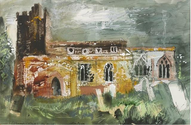 John Piper | St Martin's Church, Litchborough (1976) | Available for Sale |  Artsy