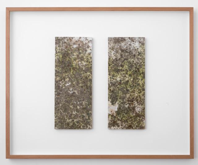 Luca Vitone, 'Untitled', 2016, Painting, Mixed media on canvas, Rolando Anselmi