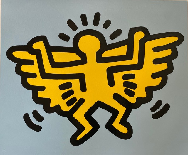 Keith Haring, 'Angel from Icons', 1990, Fine Art Mia