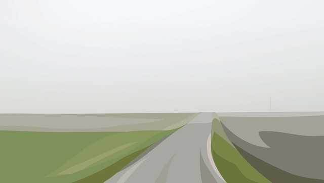 Julian Opie, 'Winter 54.', 2012, Alan Cristea Gallery