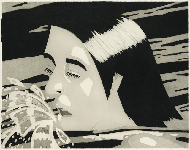 Alex Katz, 'The Swimmer', 1974, Swann Auction Galleries