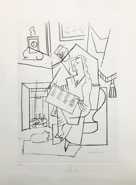 Pablo Picasso, 'FEMME DANS UN FAUTEUIL', 1979-1982, Reproduction, LITHOGRAPH ON ARCHES PAPER, Gallery Art