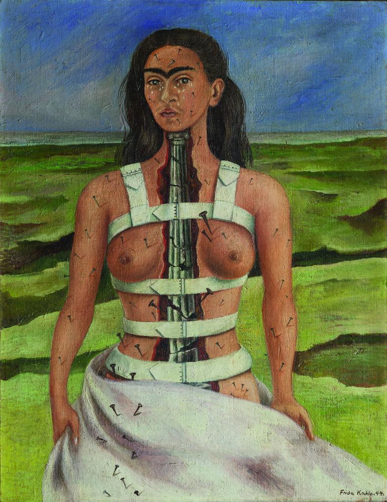 Frida Kahlo. Columna rota.