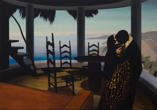 , 'The kiss,' 2016, Machete
