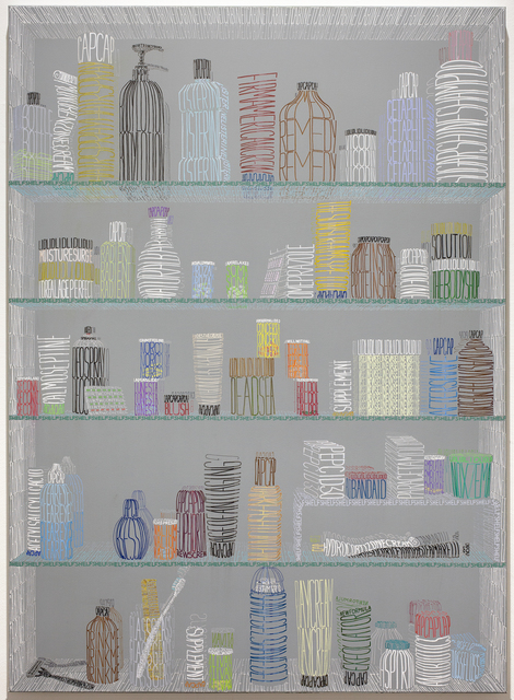 , 'Rainbow Cabinet,' 2016, Galleri Magnus Karlsson