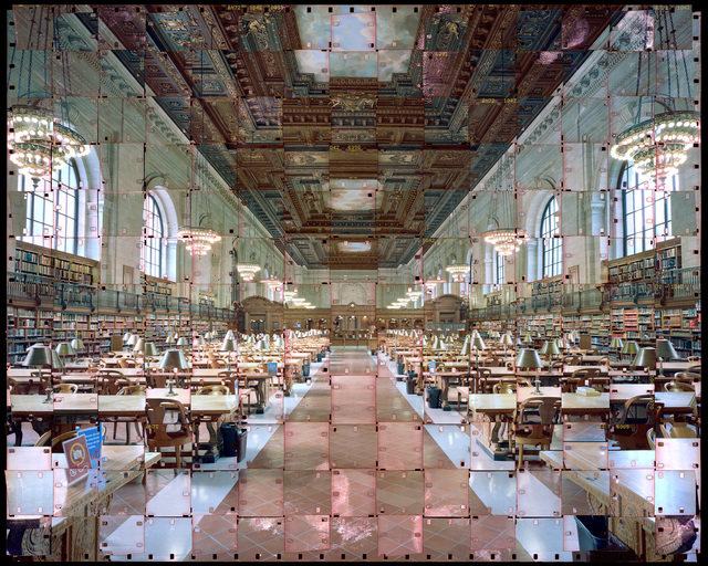 , 'New York Public Library,' 2014, Pyo Gallery LA