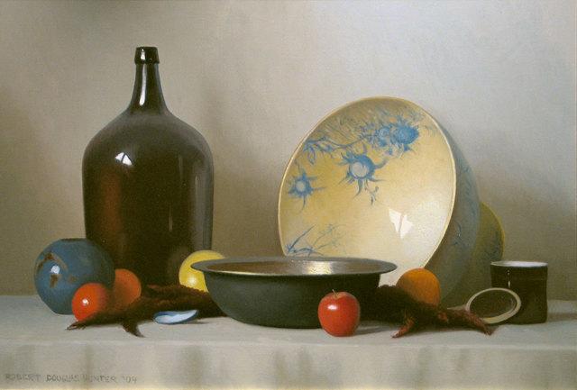 Robert Douglas Hunter, 'Still Life Objects with Fruit', 2004, Vose Galleries