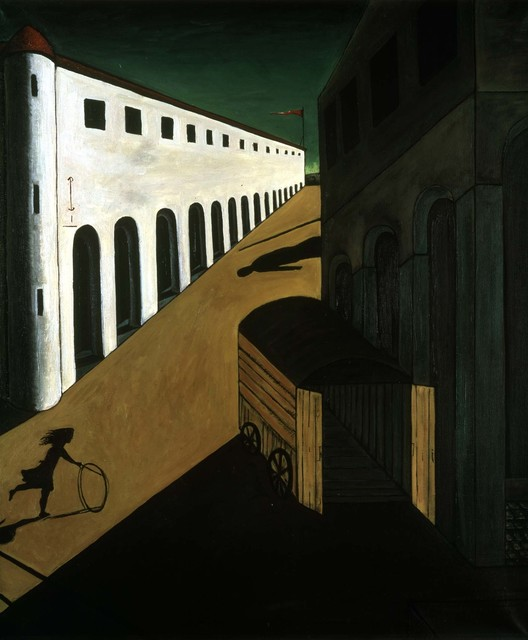 Mike Bidlo, 'Not de Chirico (Girl with a hoop; Mystery and melancholy of a street, 1914)', 1989-1990, Galerie Andrea Caratsch
