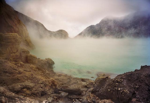 Meridel Rubenstein, 'Acid Crater Lake, Kawah Ijen Volcano, East Java, Indonesia', 2010, Brian Gross Fine Art