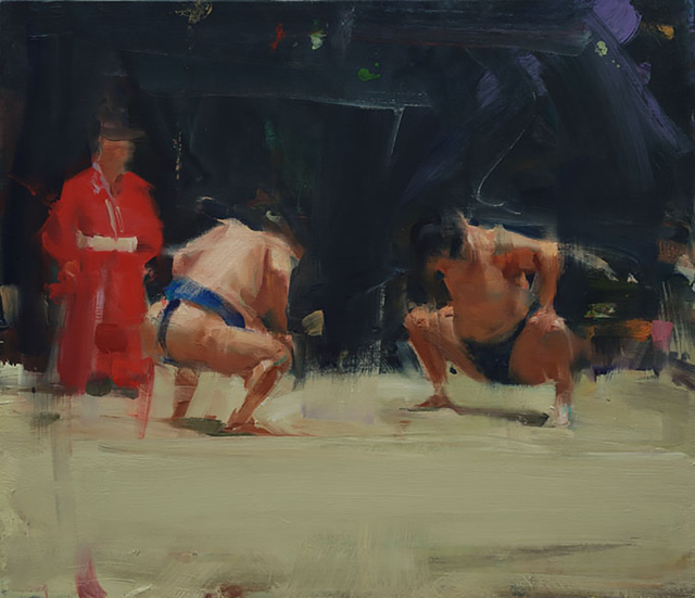 David Shevlino, 'Bowing Sumos', 2014, Gallery 1261