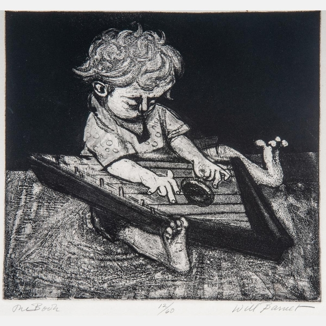, 'The Zither,' 1939, Resource Art