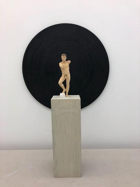 , 'Torso vor schwarzer Scheibe,' 2018, Galerie Jochen Hempel