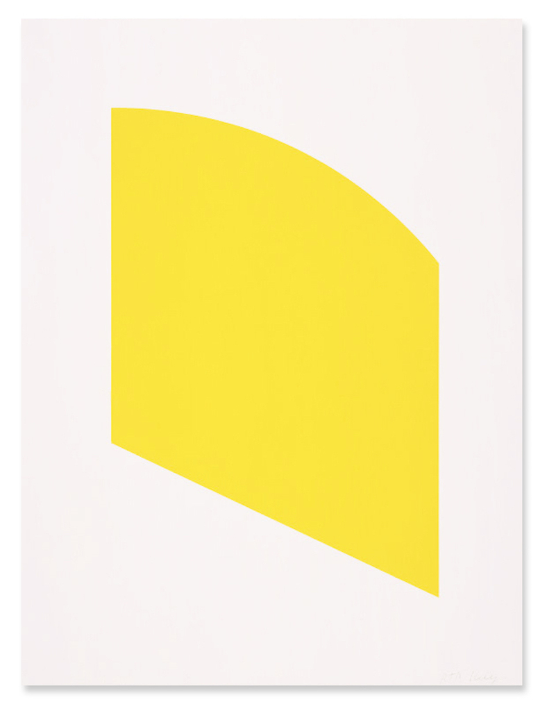 Ellsworth Kelly   Yellow (2004)   Available for Sale   Artsy