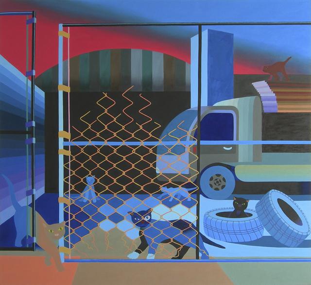 , 'Metropolitan Avenue,' 2017, Morgan Lehman Gallery