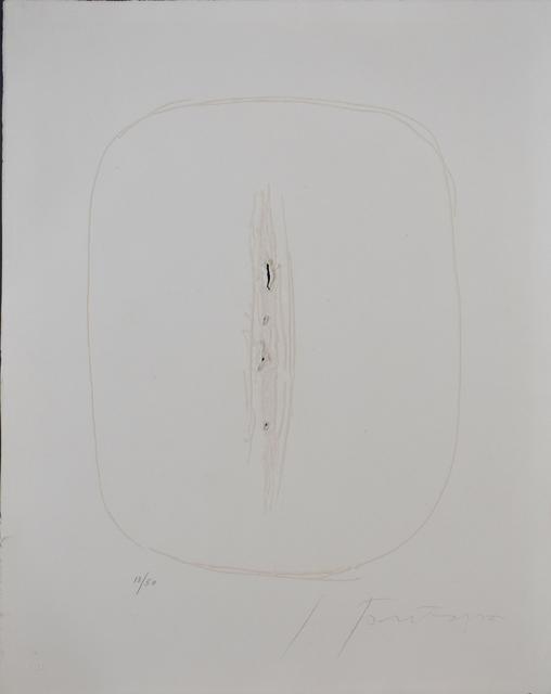 , 'Spatial Concept I, from: Six Original Etchings | Concetto Spaziale I: Sei acquaforti originali,' 1964, Gilden's Art Gallery