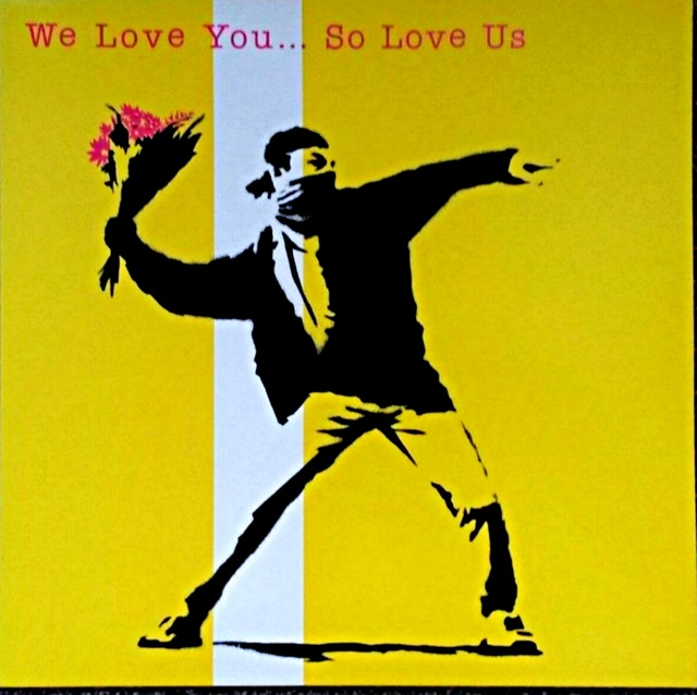 Banksy, 'We Love You...So Love Us', 2000 , Ephemera or Merchandise, Vinyl record and silkscreen cover, Alpha 137 Gallery