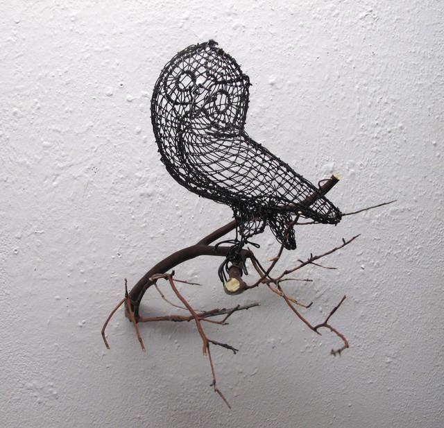 , 'Cocked Head Owl,' 2017, Talley Dunn Gallery