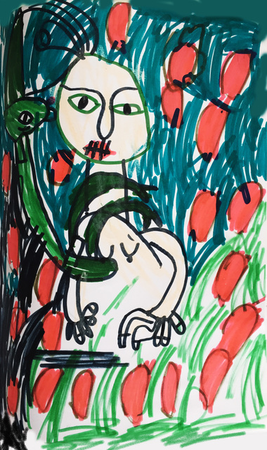 ARON STOJAN PIČMAN, 'Licorne et Maman', 2015, Noravision Gallery