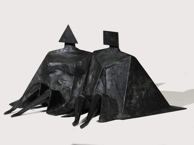 , 'Sitting Couple II,' 1980, Osborne Samuel
