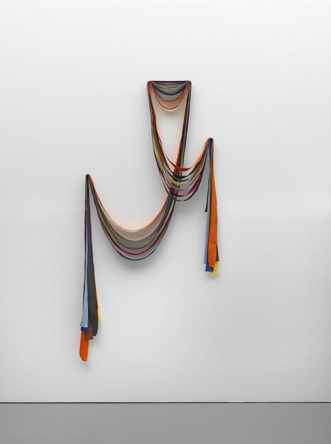 , '7 Ribbons: Orange, Brown, Blue, Yellow, Violet, Red, Grey,' 2015, Pilar Corrias Gallery