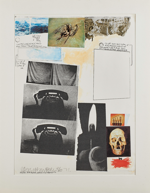 Robert Rauschenberg, 'Poster for Peace', 1970/71, Print, Offset lithograph in colors on BFK Rives, Rago/Wright