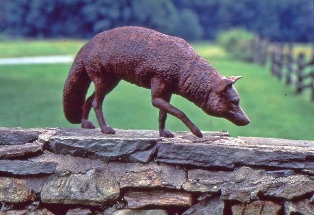 J. Clayton Bright, 'Red Fox', Sculpture, Bronze, Somerville Manning Gallery