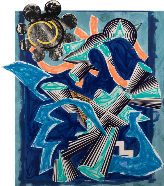, 'Illustrations after El Lissitzky's 'Had Gadya': B. Had Gadya: Back cover,' 1985, Galerie Retelet