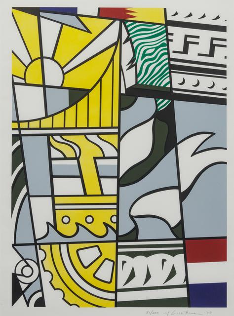 Roy Lichtenstein, 'Bicentennial Print', 1975, Hindman