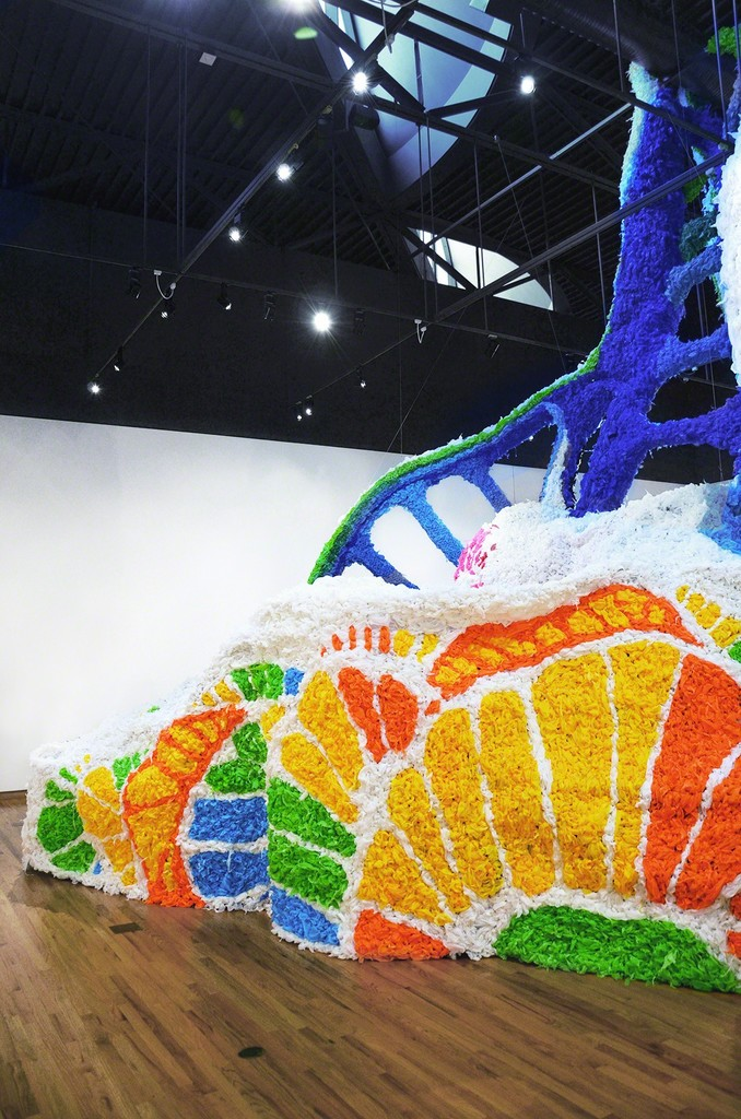 """""""Paroxysm"""" - a solo exhibition by Crystal Wagner at the Fort Wayne Museum of Art, August 5 - October 23, 2016."""