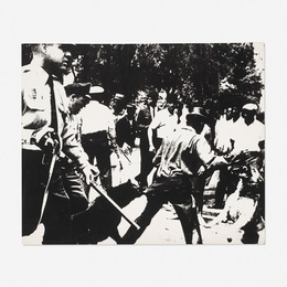 Birmingham Race Riot (from the Ten Works X Ten Painters portfolio)