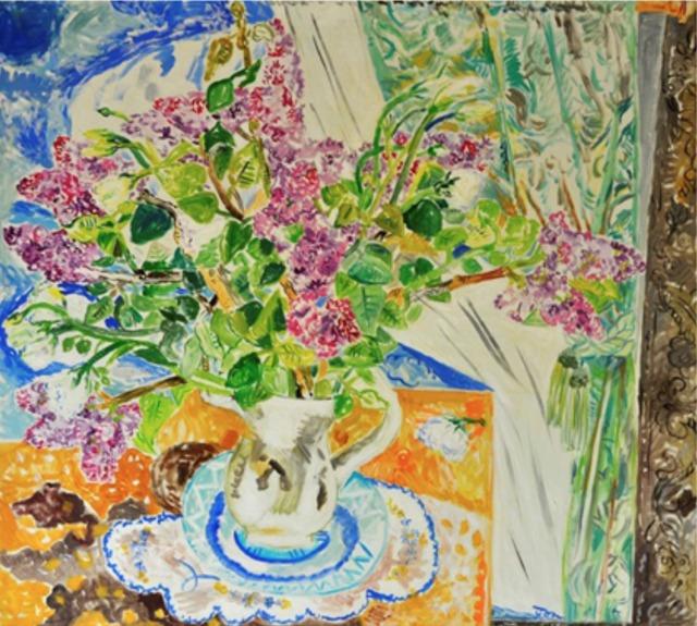 , 'Lilacs,' 1997, Andrea S. Keogh Art and Design