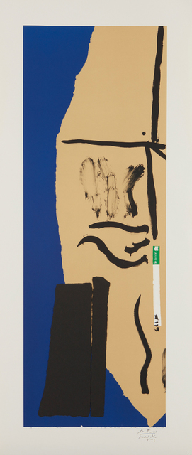 Robert Motherwell, 'America La France Variations VIII', 1983-84, Phillips