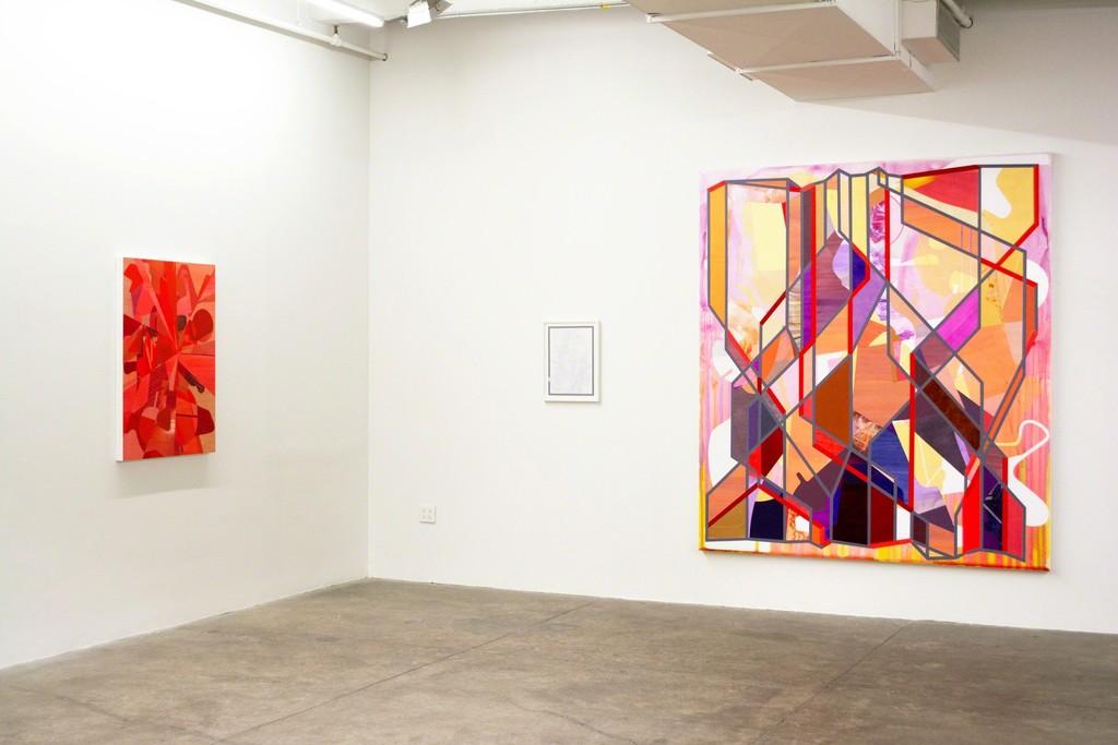 Aaron Wexler, Super Red Picture, 2014, abcdefghijklmnopqrstuvwxyz, 2015