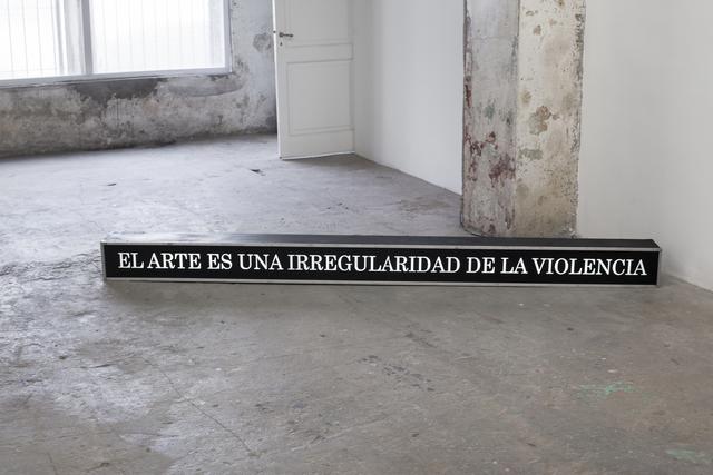 , 'Sin título,' 2017, EL GRAN VIDRIO