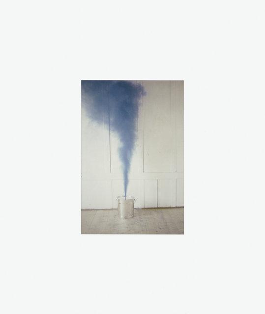 , 'Blauer Rauch,' 1984, Galerie Martin Janda