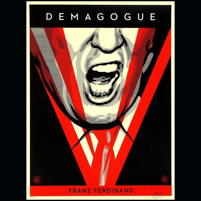 Shepard Fairey, 'Demagogue ', 2016, AYNAC Gallery