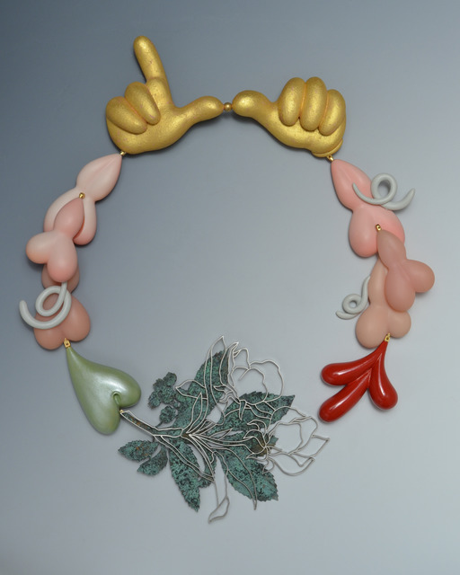 ", '""Hagemann's Blossoms"" necklace,' 2013, Gallery Loupe"