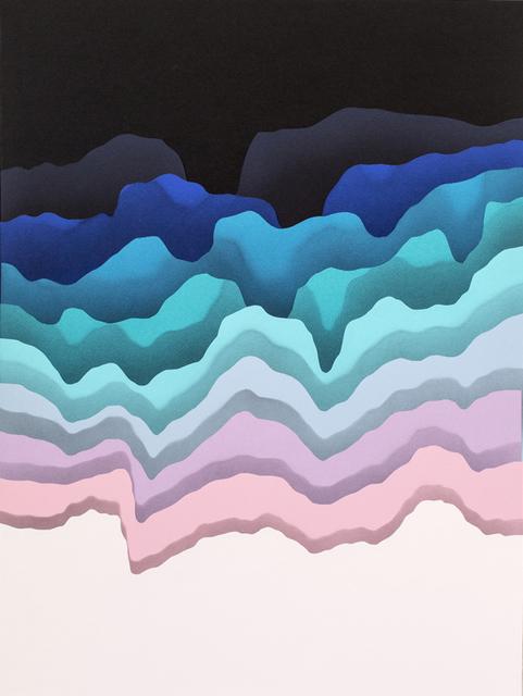 , 'Split 4,' 2015, Hashimoto Contemporary