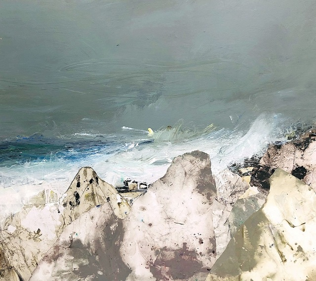 , 'Spring Tide and Pale Rocks, Islay,' , Panter & Hall