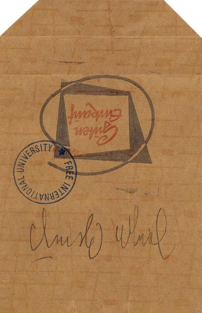 Joseph Beuys, 'Senza Titolo', Itineris