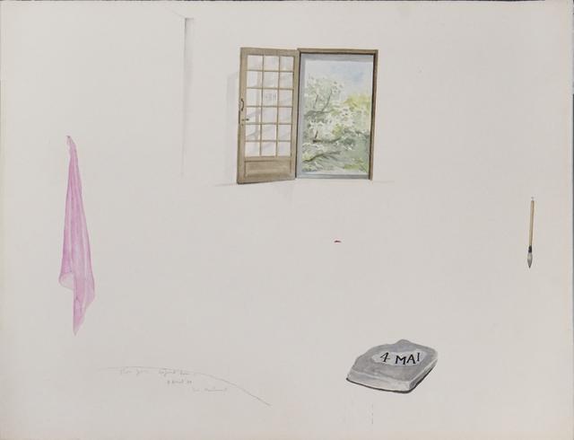 , 'Bon Jour Aujourd'hui, 4 avril 78, Ici Maintenant,' 1978, Arario Gallery