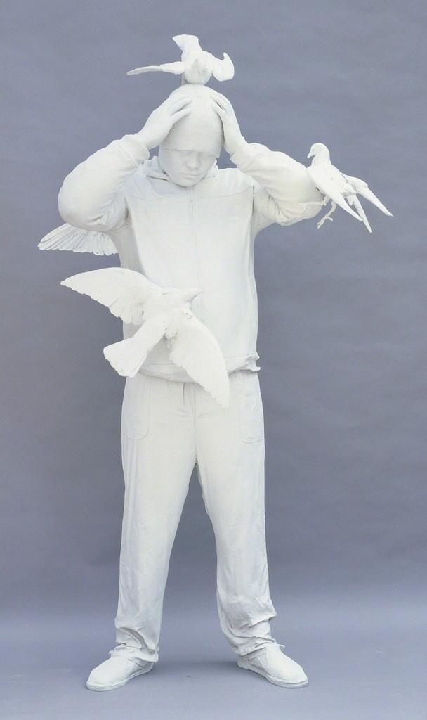 Zhang Dali, 'Square No. 4,' 2014, Klein Sun Gallery