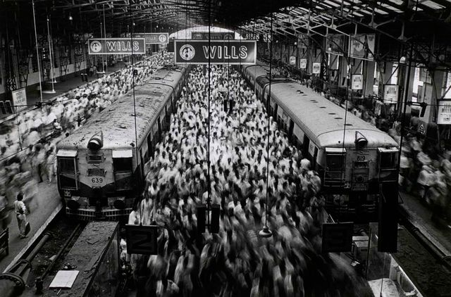 , 'Church Gate Station, Bombay, India,' 1995, Peter Fetterman Gallery