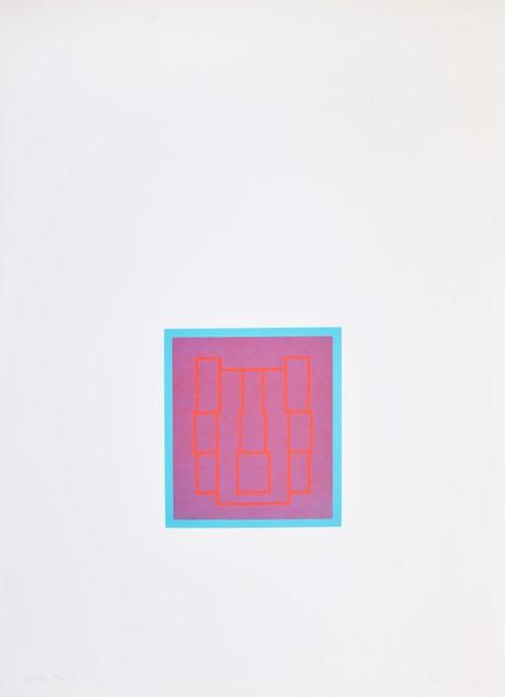 Robyn Denny, 'Portraits (Series B), III', 1970, Shapero Modern